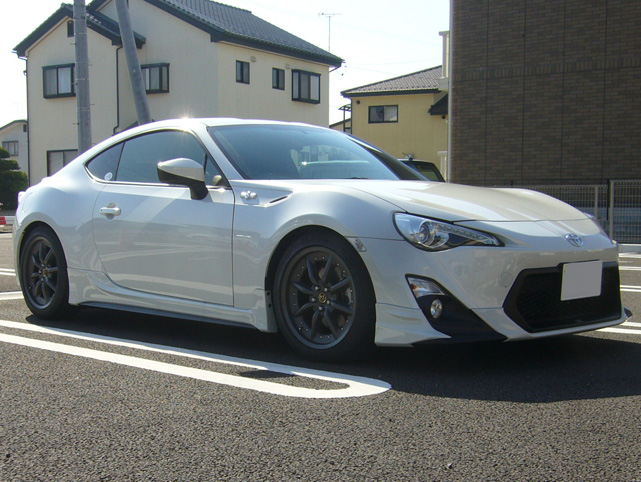 white gt86 trd with watanabes scion fr s forum subaru. Black Bedroom Furniture Sets. Home Design Ideas
