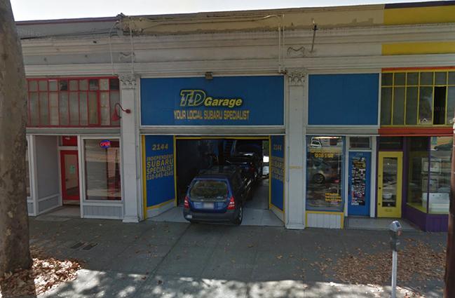 Td garage for Td garage services